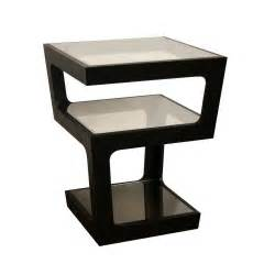 Black End Tables Table Modern Small Side Tables