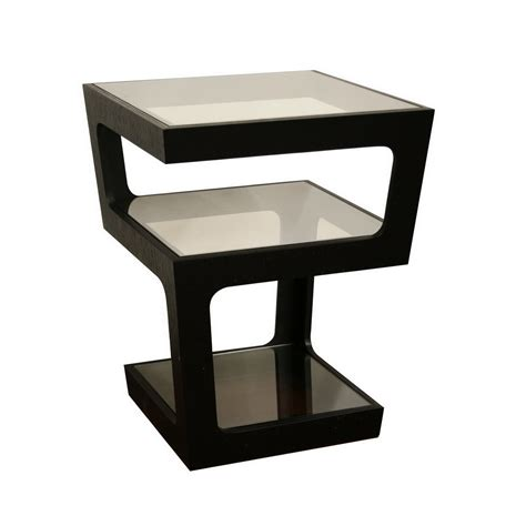 black contemporary end tables table modern small side tables