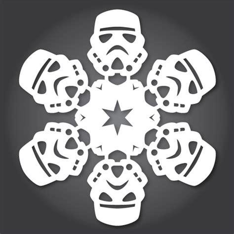 diy star wars snowflake patterns use the x acto luke