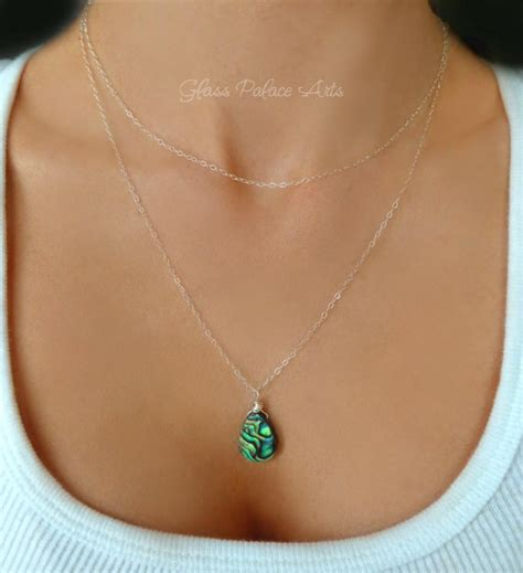 how to make abalone jewelry abalone necklace paua shell jewelry sea shell necklace paua