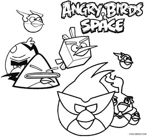 angry birds space coloring pages orange bird printable angry birds coloring pages for kids cool2bkids