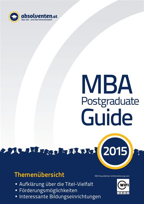 The Mba Guide To Networking Like A Rockstar Pdf by Mba Postgraduate Guide 2015 By Business Cluster Network