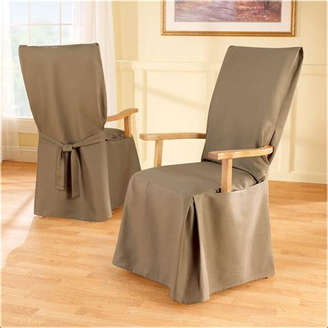 slipcovered dining chairs with arms dining chair covers with arms top 27 awesome photos