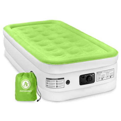 air comfort easy size raised air mattress with built in shop your way