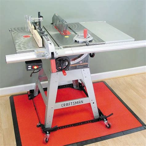 craftsman 10 in table saw with accessories