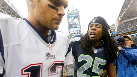 richard sherman tom brady you mad bro youtube