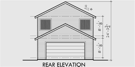 rear garage house plans two story house plans narrow lot house plans rear garage house