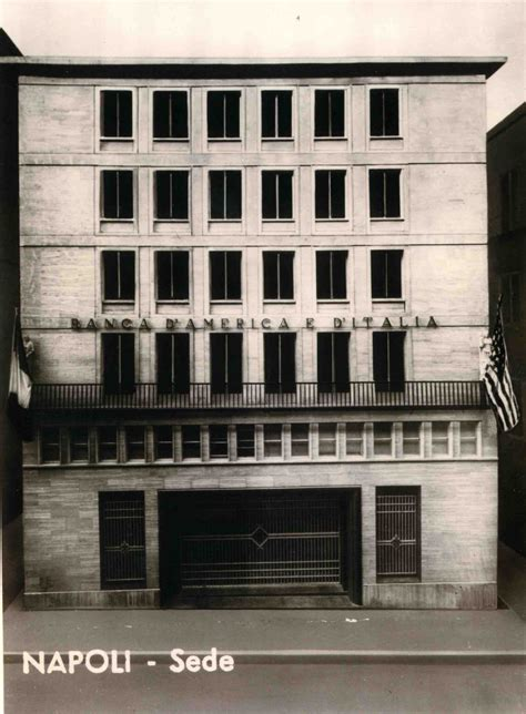 Banca Italia Napoli by Banca D America E D Italia Oggi Deutsche Bank Compie 100