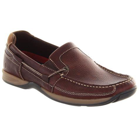 chatham mens bowker brown slip on deck shoe