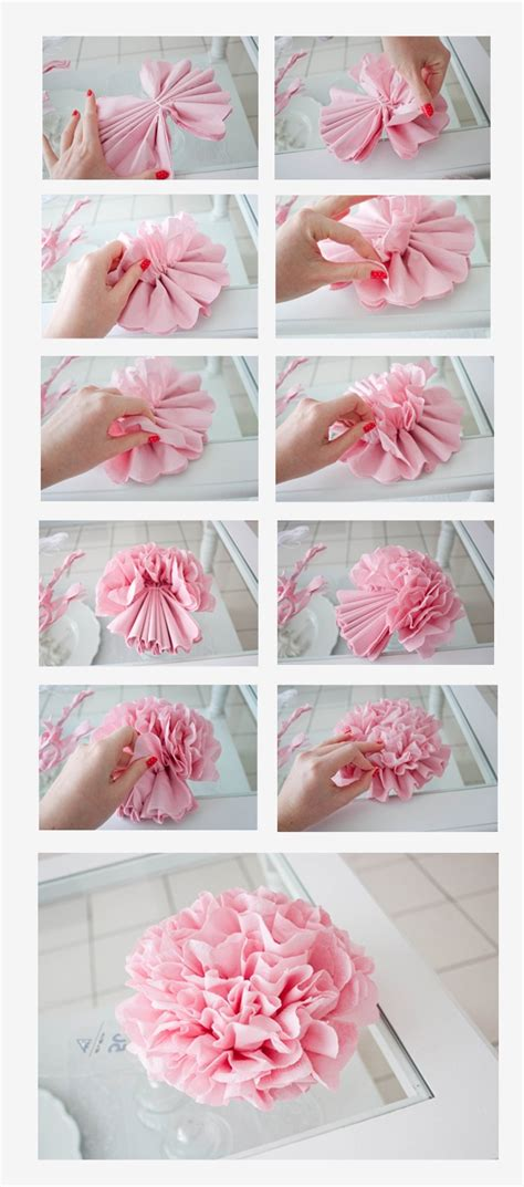 How To Make Paper Napkin Flowers - creative ideas to use napkin paper rank nepal
