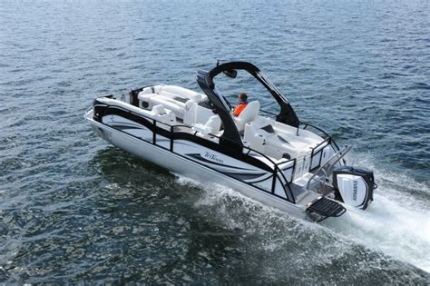 types of tritoon boats jc tritoon marine sporttoon 26 tt pontoon deck boat