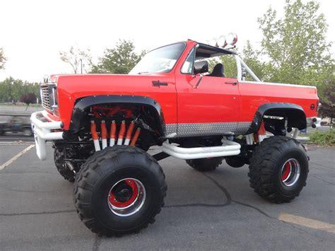 monster truck video for 1973 chevrolet blazer k5 monster truck for sale