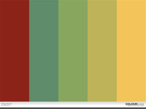 modern color schemes color palette vintage modern color palettes pinterest