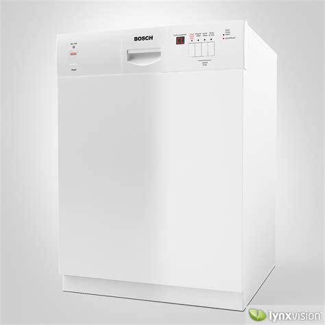 bosch dishwasher 3d model max obj fbx mtl cgtrader
