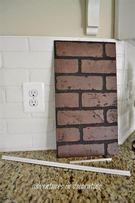 best 25 whitewash brick backsplash ideas on pinterest painted indoor best 25 faux brick backsplash ideas on pinterest white