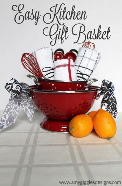 kitchen basket ideas easy kitchen gift basket great idea for the realtors