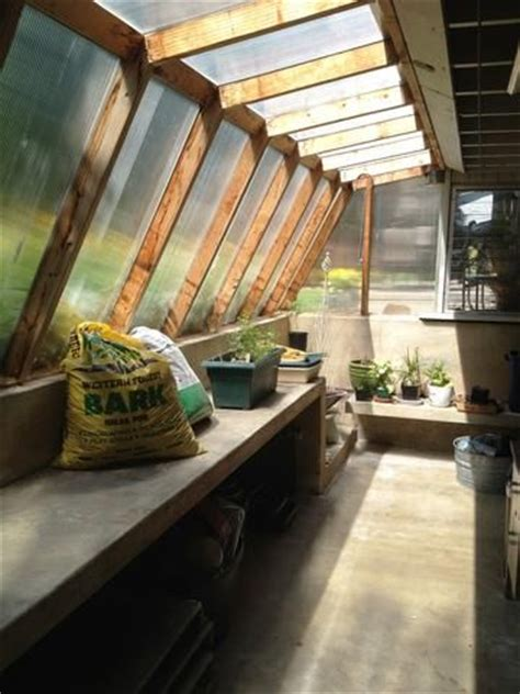 cool  greenhouse attached  house garden pinterest greenhouses house  sheds