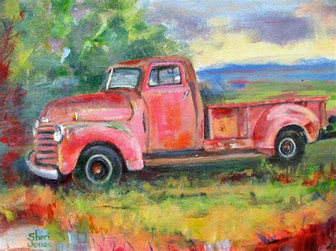 painting trucks sheri jones painting journal i like pink trucks by sheri