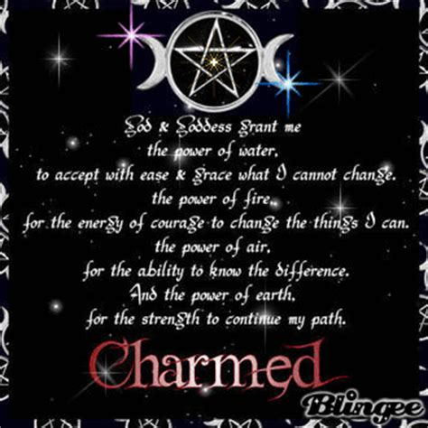 wiccan prayer wiccan serenity prayer picture 93750624 blingee