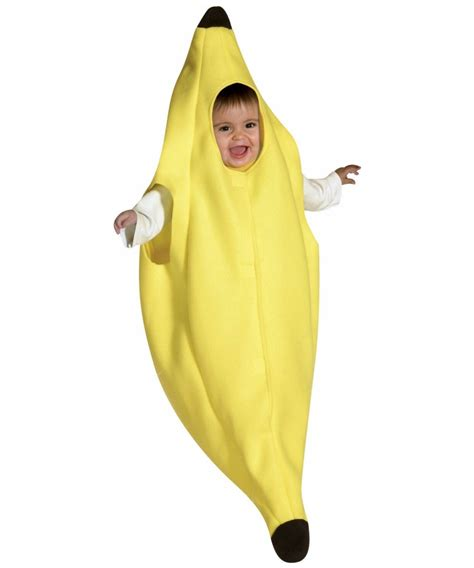 Baby Monkey Banana Suit banana costume banana costumes