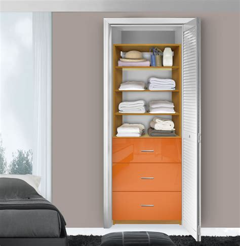 isa custom closet system 3 drawers adjustable