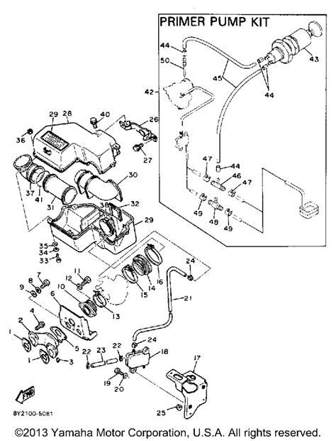 yamaha enticer 340 engine wiring diagram and fuse box