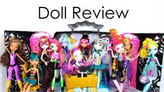 doll collection review monster high music festival and