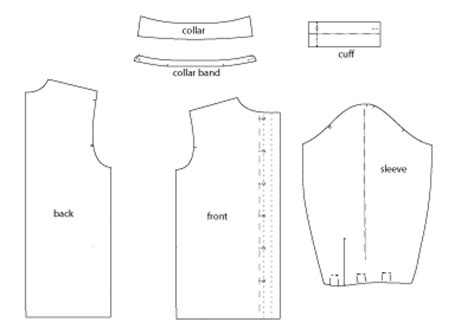 pattern making for blouse sewing a silk shirt shirt sewing pattern make a crisp