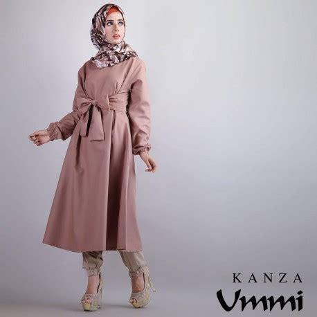 Carla Kulot kanza brown baju muslim gamis modern