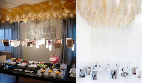 Super chic DIY Ideas using balloons in your Engagement