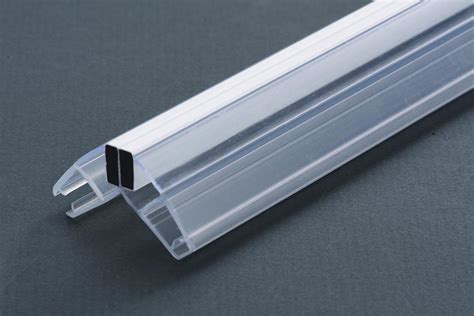 Custom Clear Pvc Edging Strips For Shower Door Glass Shower Door Strips