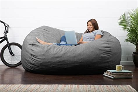union bean bag chair big joe fuf foam filled bean bag chair union