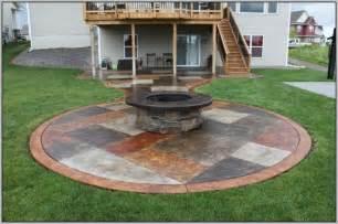 Concrete Patio Floor Paint Ideas by Paint Concrete Patio To Look Like Stone Patios Home