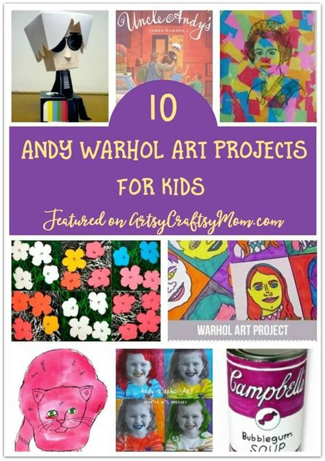andy warhol biography for students 17 best images about warhol themed art ideas pop art on