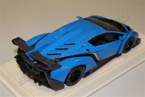 Blue Lamborghini Veneno Mr Collection 2013 Lamborghini Lamborghini Veneno