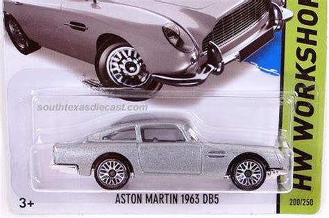 Aston Martin 1963 Dbs Merah Diecast Hotwheels models wheels aston martin 1963 db5 was sold for r40