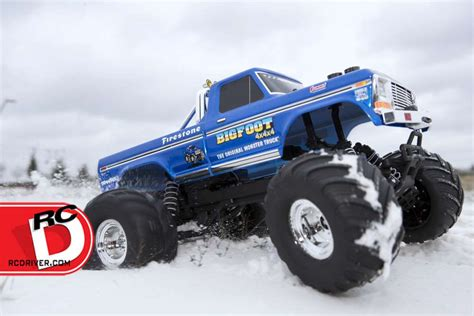 bigfoot rc monster truck bigfoot no 1 the original monster truck from traxxas rc
