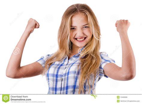 imagenes graciosas levantando la mano las mujeres le muestran 233 xito levantando las manos
