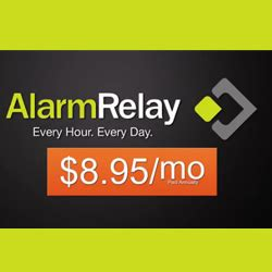 low cost alarm monitoring services leader alarm relay