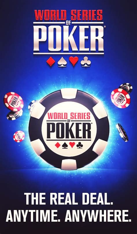 world series  poker wsop  texas holdem  android    software reviews