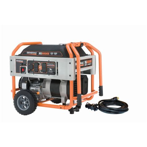 jobsite portable electric generators from lowes generators