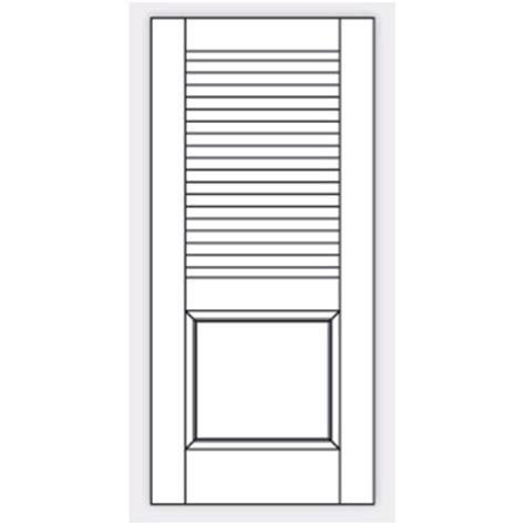 Gratis Bim Objekt Til Bimobject False Louvered Interior Doors