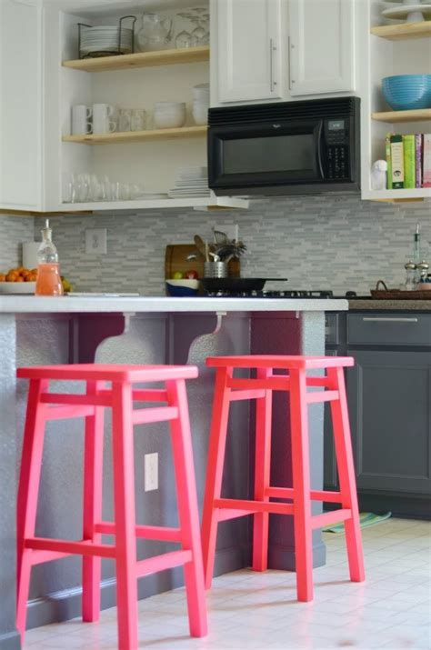 Coloured Kitchen Stools 18 brilliant kitchen bar stools that add a serious pop of
