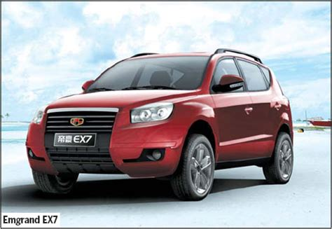 geely sets record  exhibits floor space