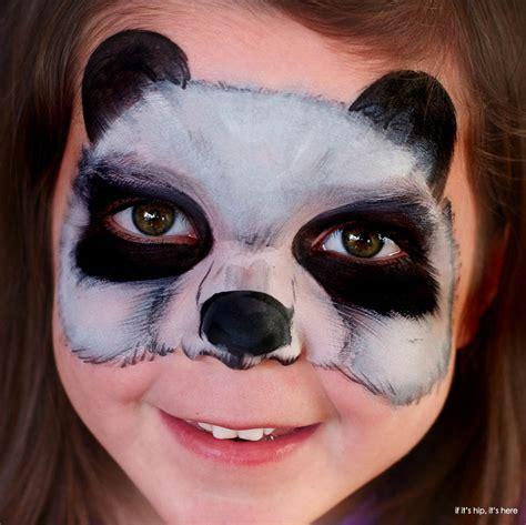 imagenes para pintar la cara de los niños maquillaje para ni 241 os carnaval 2016 oso panda