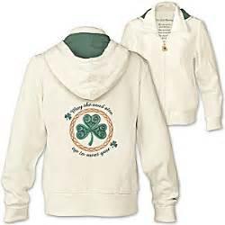 design hoodies ireland an irish blessing womens clover hoodie