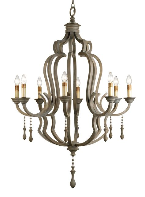 Currey Chandeliers Currey And Company 9010 Waterloo Eight Light Chandelier