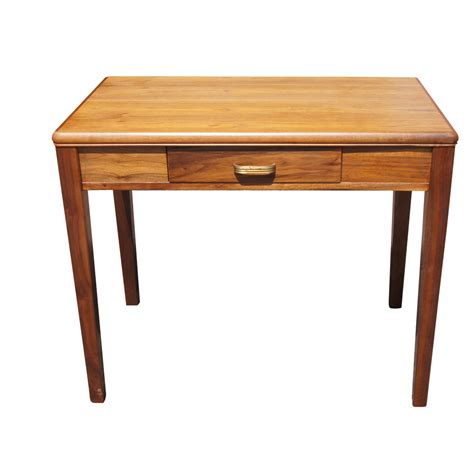 Mid Century Modern Furniture Desk 36 Quot Vintage Mid Century Modern Walnut Desk Mr11739 Ebay