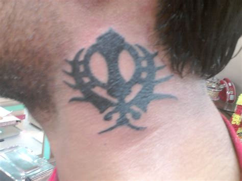 khanda tattoo designs khanda designs on neck www pixshark images