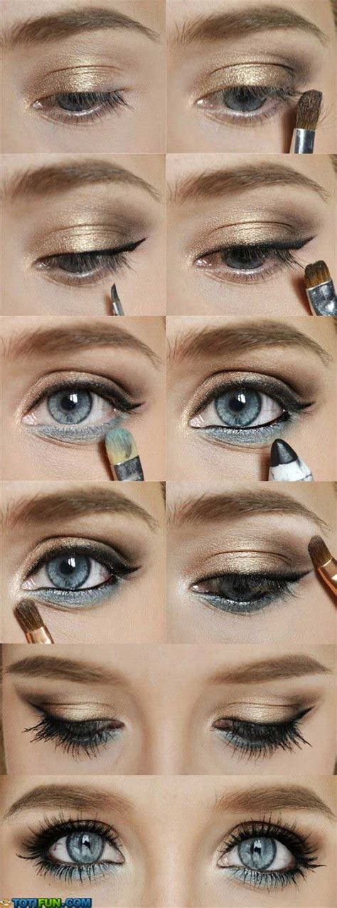 Eyeshadow Trisia 25 best ideas about blue on makeup for